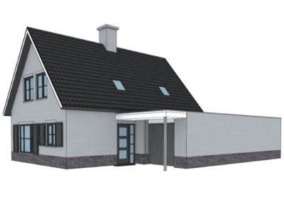Eigentijdse woning met slaap- en badkamer op begane grond