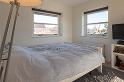 Slaapkamer modern en eigentijds