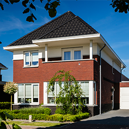 Hoog huis stijlvol en klassiek