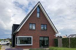 Huis modern en eigentijds